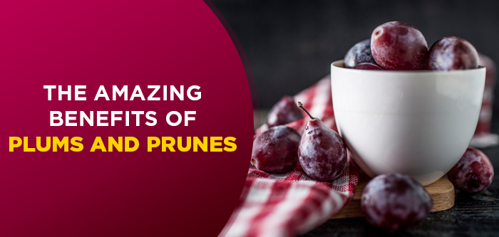 7 Reasons To Add Plums & Prunes To Your Diet