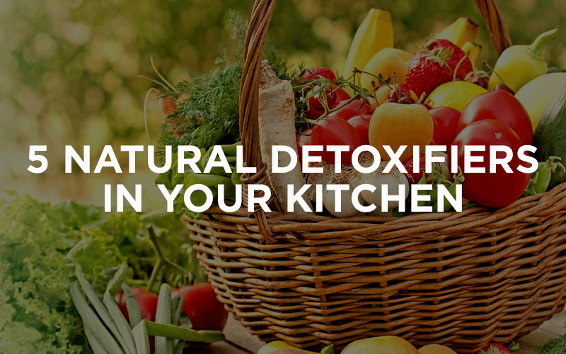 5 Natural Detoxifiers In Your Kitchen