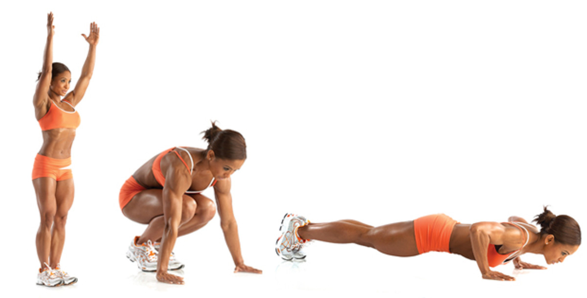 Burpees Exercise - How To Do Burpees Workout In Correct Form