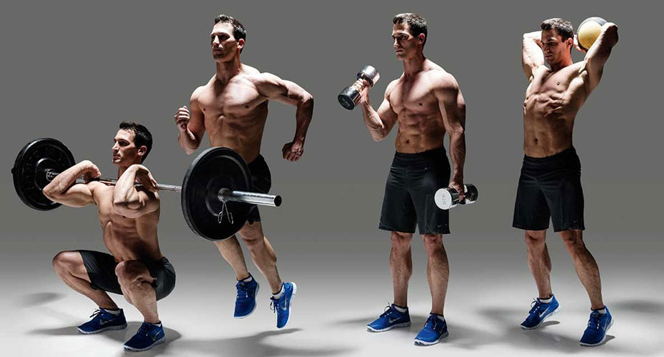 6 Workouts For The Perfect Physique