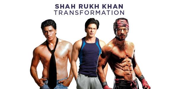Shahrukh Khan And His 8-Packs