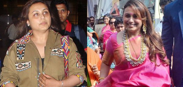 Rani Mukerji's Stunning Transformation
