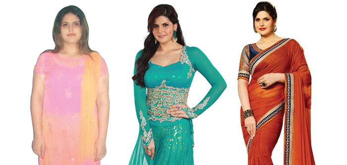 Zareen khans incredible weight loss journey ccuart Image collections