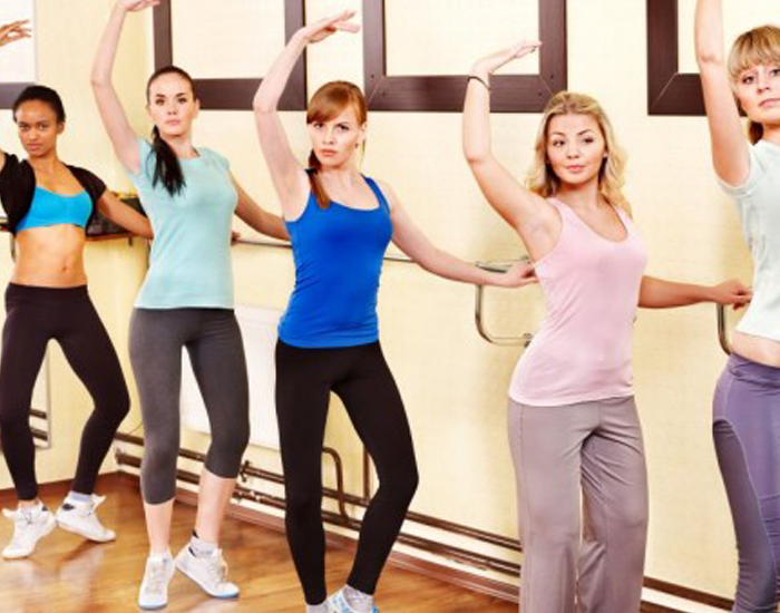barre workout dance