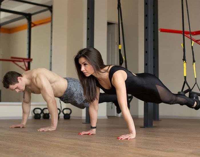 What kind of workout is TRX?