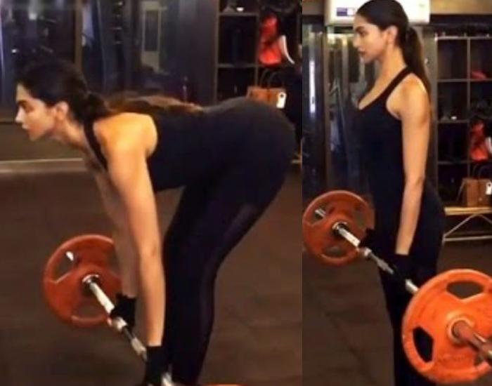 deepika padukone gym workout