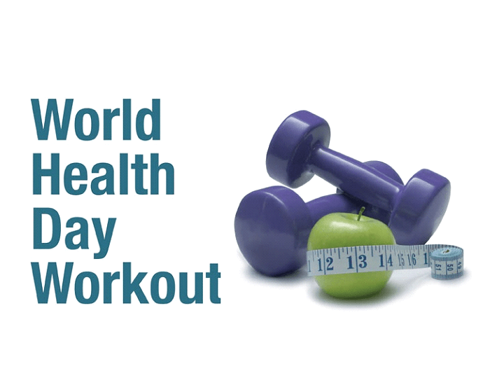 Do Workout on World Health Day