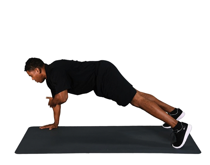 Shoulder Tap Push Up