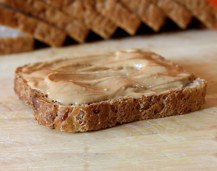 Whole Wheat Toast with Nut Butter