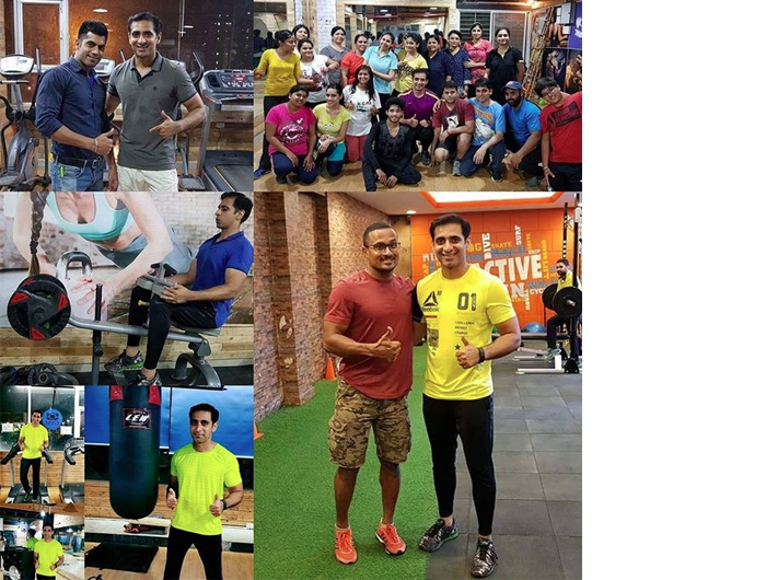 Akhil created 100 workouts in 100 different gyms in style