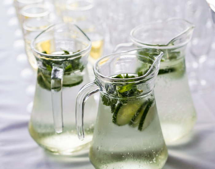 Mint Cucumber Lemonade: 85 Calories - FITPASS