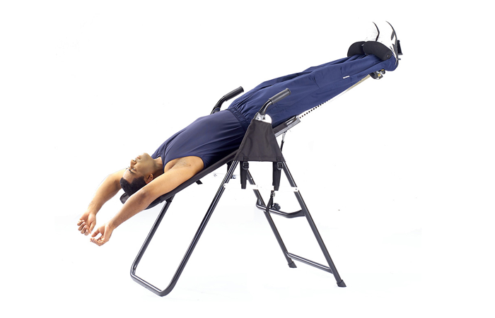 Inversion table exercise