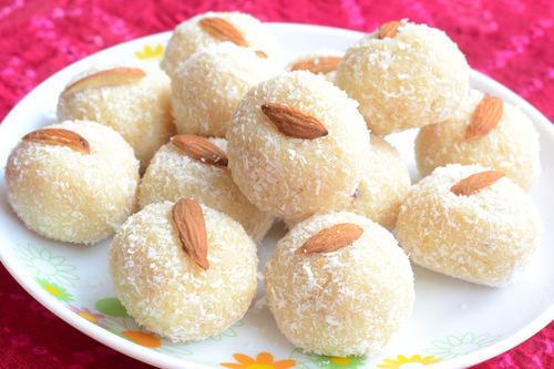 Coconut Ladoo Holi Sweets