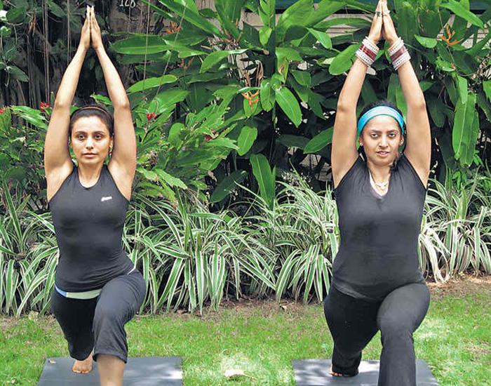 Rani Mukerji Yoga