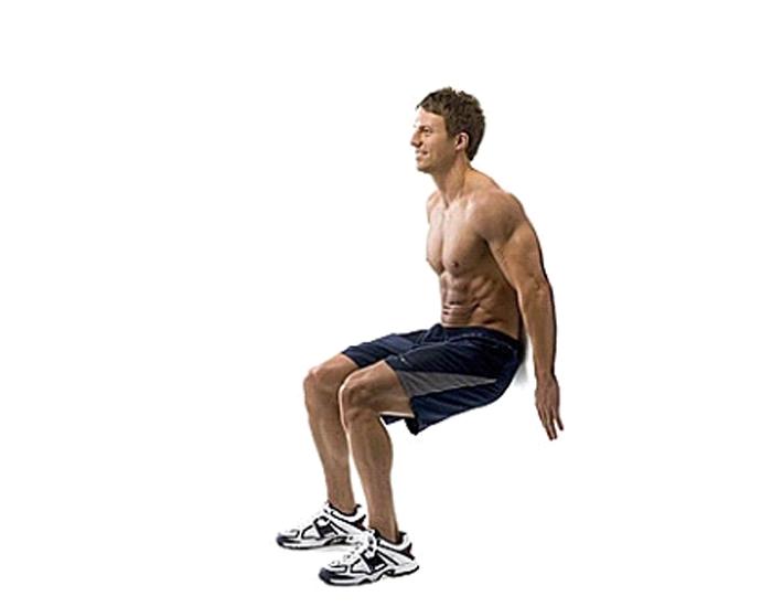 Wall Sit- Best-Lower-Body-Workouts