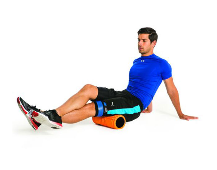 Foam-roller-to-stretch-hamstrings