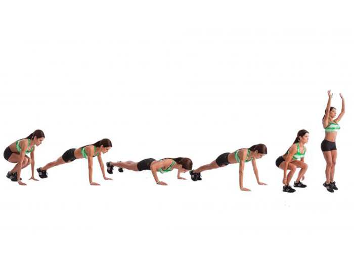 Burpee to Push-up