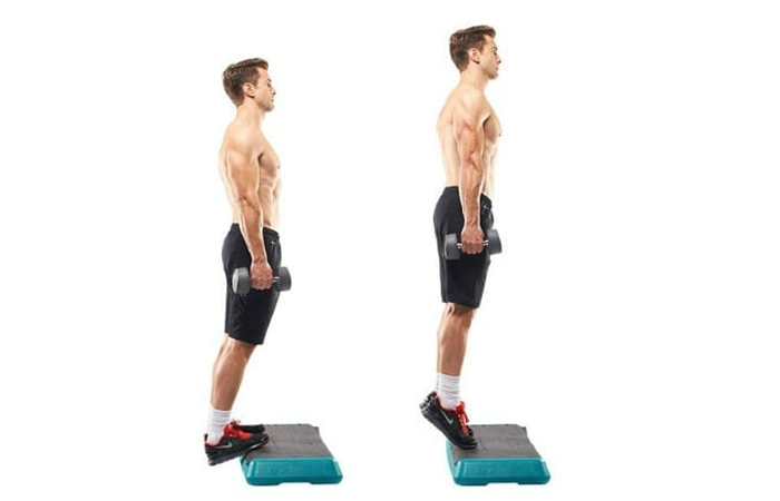 Standing and situated toe contact