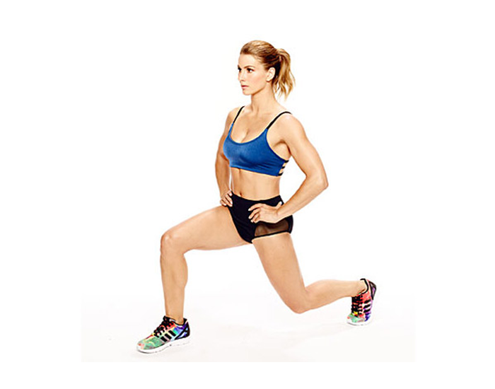 Push-ups and Lunges