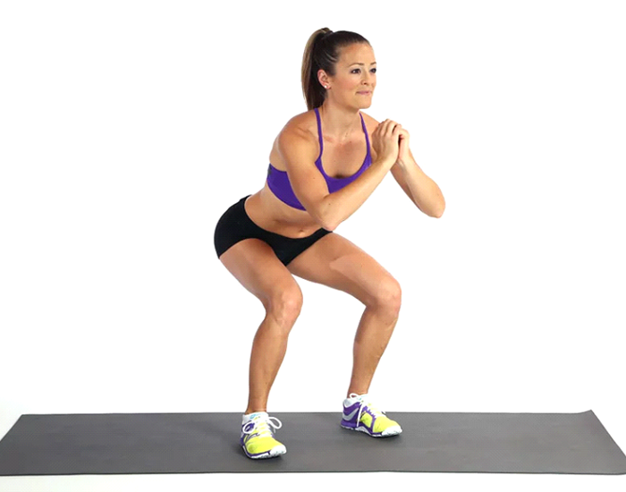 Squat, one of the best lower body exercises