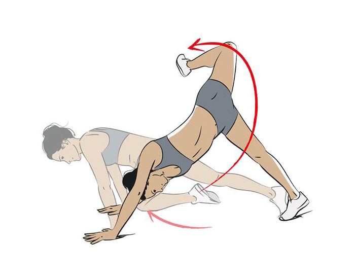 Scorpion Reach Workout