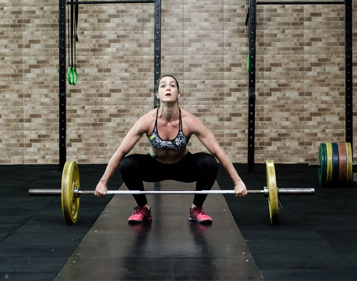 Lifting weight bulks women up