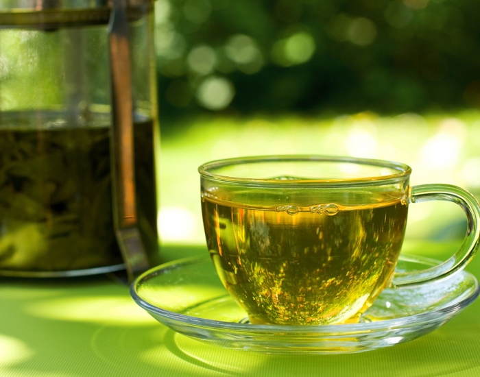 Green Tea - No more puffy eyes