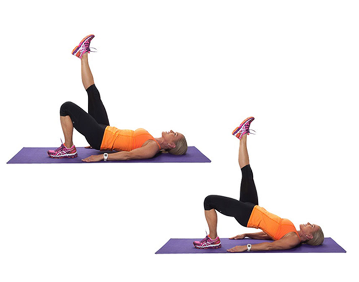 Single Leg Hamstring Bridge
