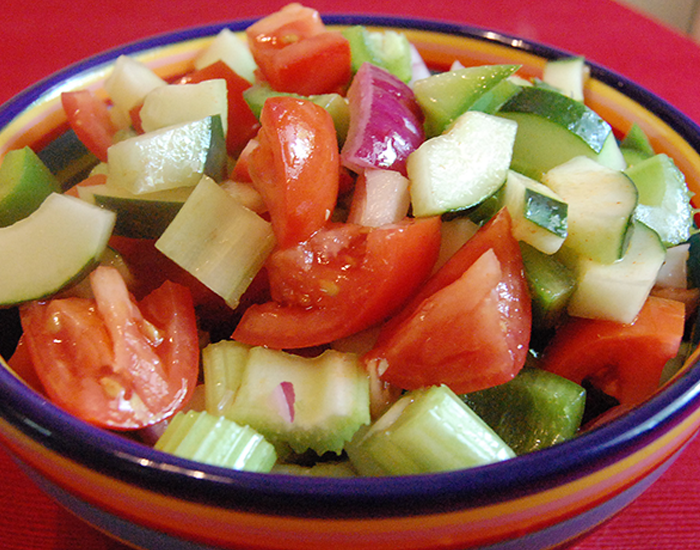 Eat Vegetable Salad at least once
