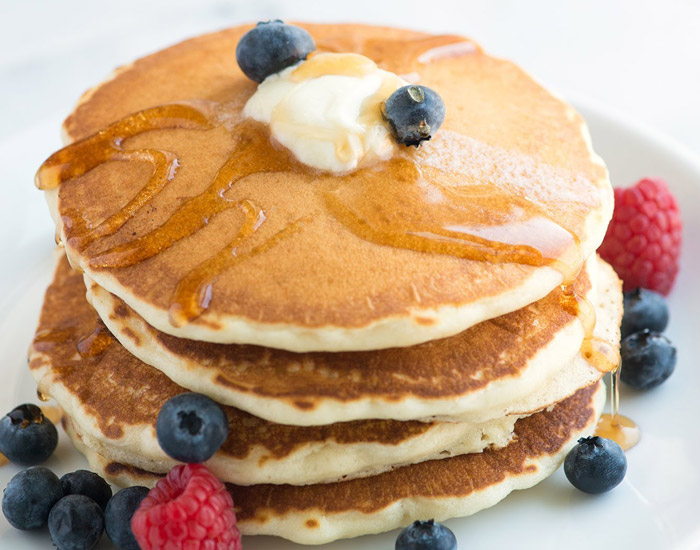 banana and egg pancakes