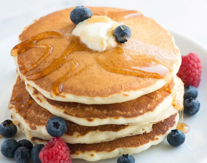 banana and egg pancakes