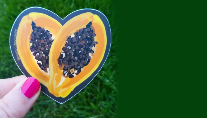 Papaya-helps-to-protects-the-heart-health