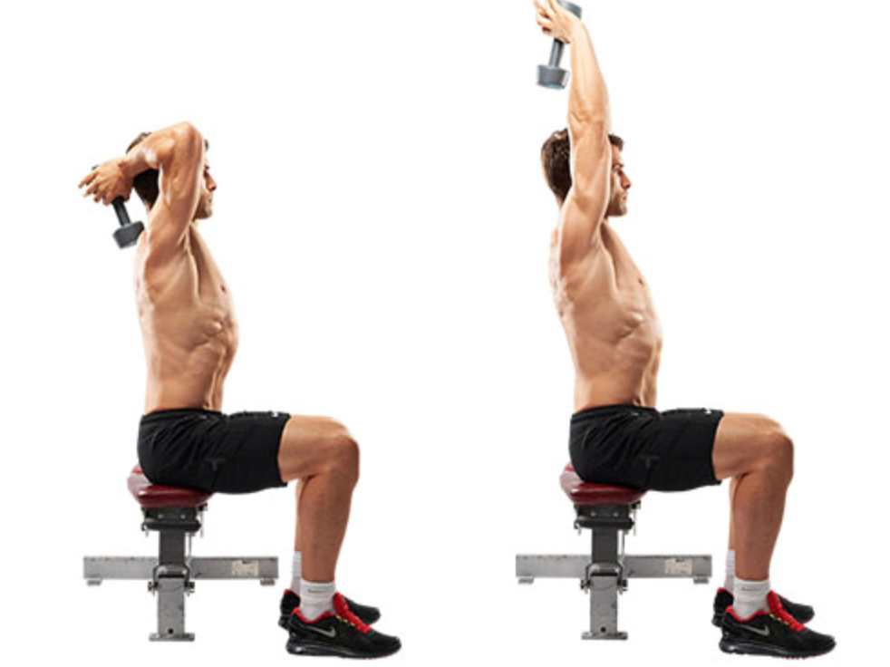 Dumbbell Triceps Extension