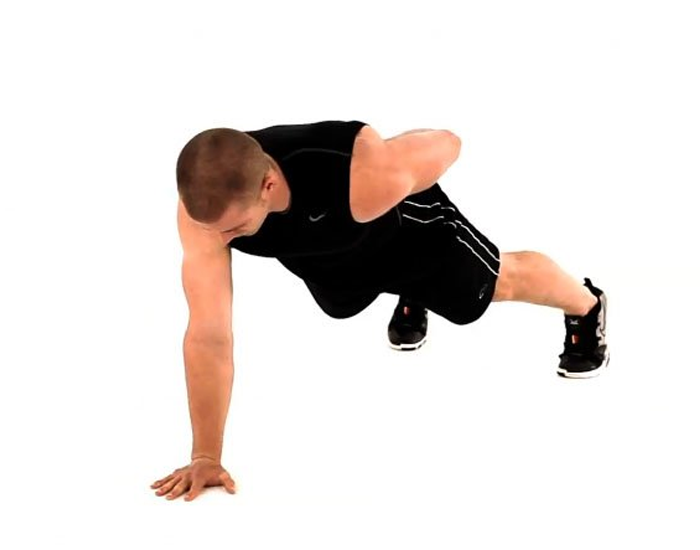 One Arm Push Up