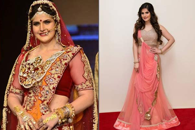 Zareen Khan Figure
