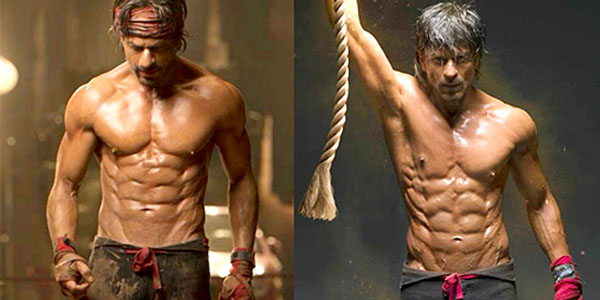 SRK's Workout Regime