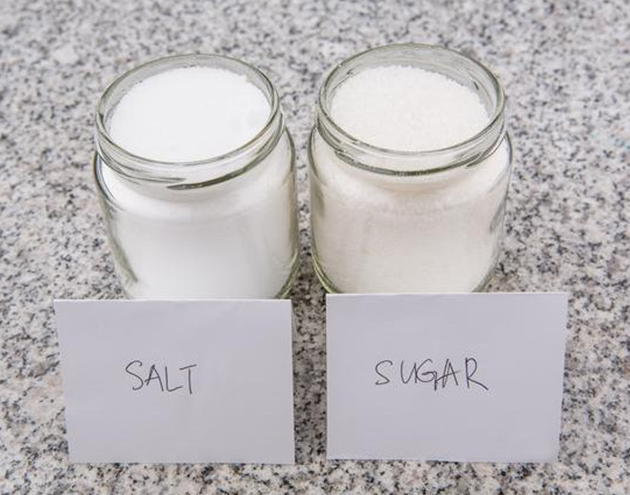 Cut down on Salt and Sugar