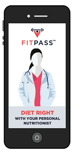 Personalized Nutritionist with FITPASS