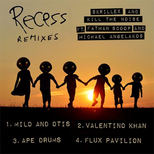Skrillex & Kill The Noise Feat. Fatman Scoop and Michael Angelakos - Recess (Valentino Khan Remix)