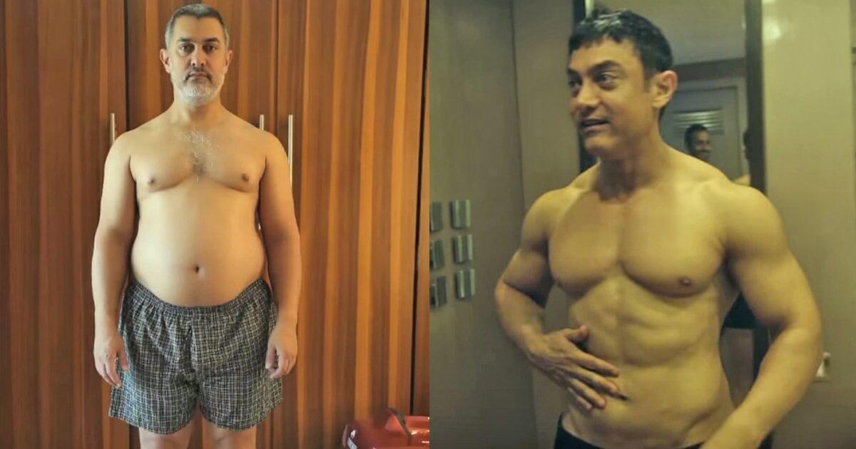 Aamir Khan Transformation
