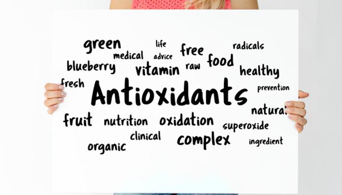 full of antioxidants