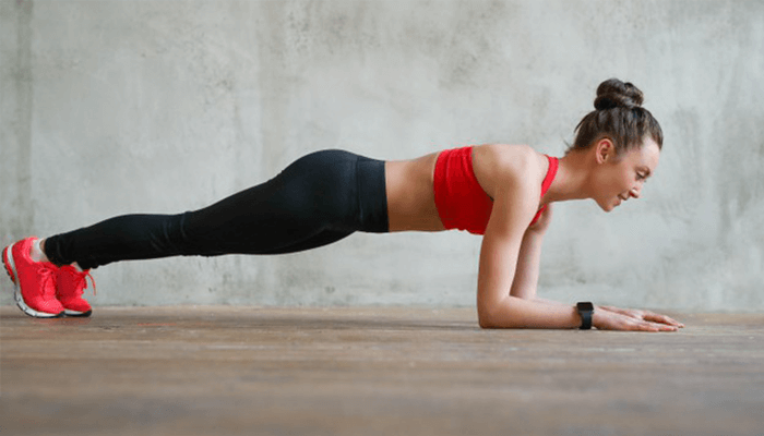Core Workout based on Plank Variations