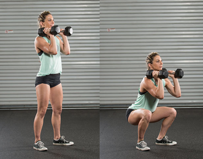 Dumbbell for legs (Calves, Quads, Hamstrings)