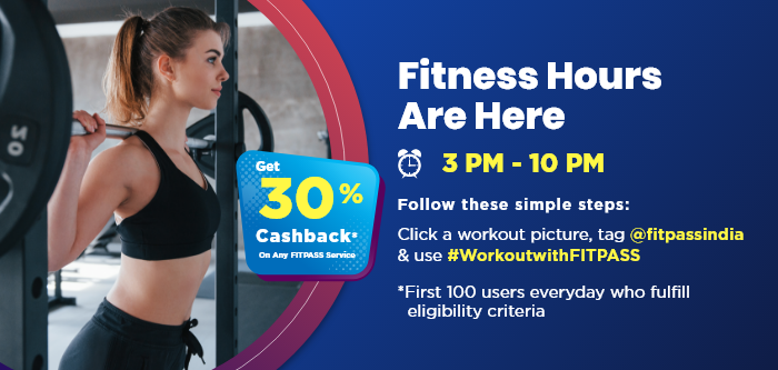 FITPASS 30% Cashback Offer