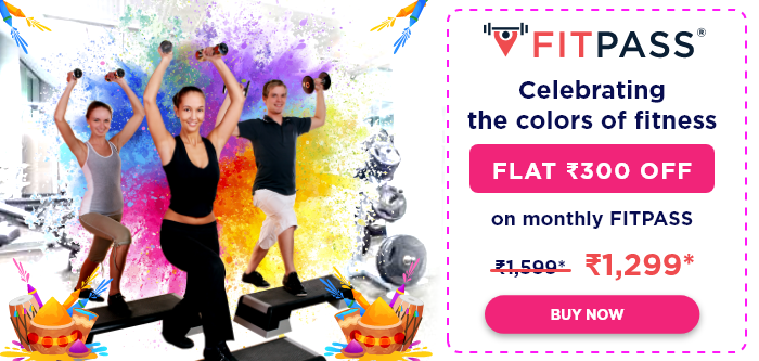 FITPASS Holi Offer