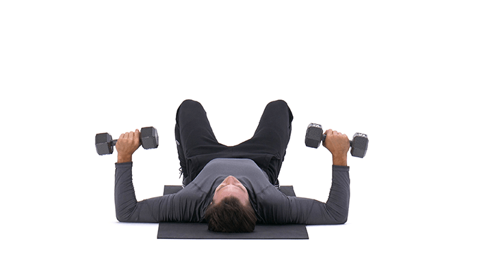 (Dumbbell) Floor Press