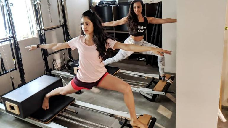 Jhanvi kapoor workout routine