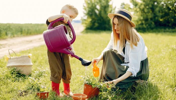 Make gardening a group workout