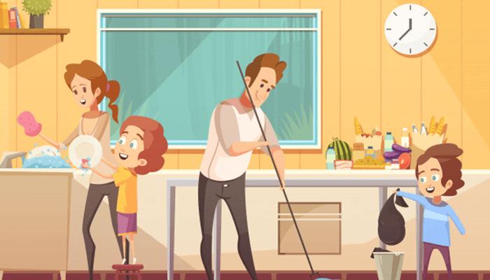 Make household chores fun