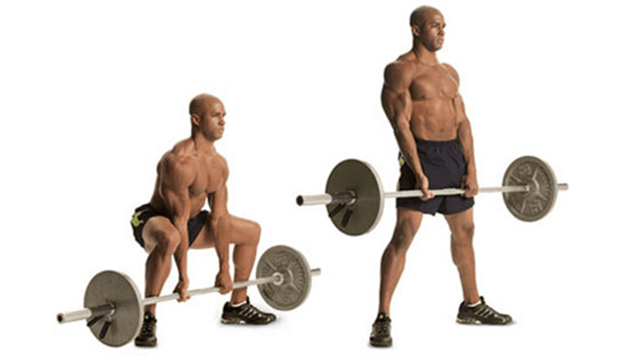 Regular Deadlift